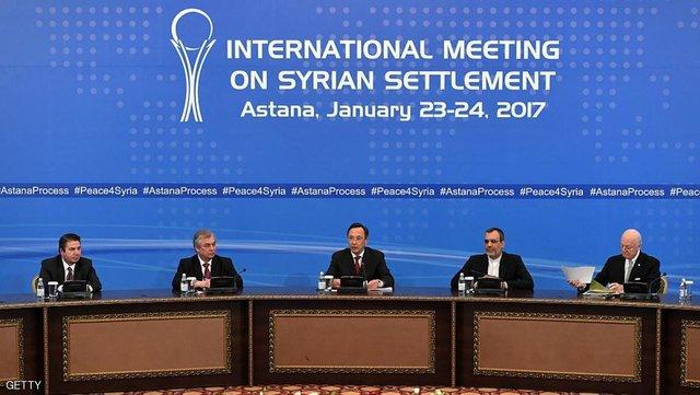 بدء أعمال اجتماع ثلاثي يضم ايران وروسيا وتركيا حول سوريا في طهران