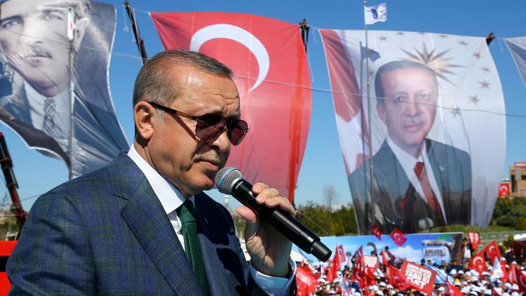 أردوغان يصف الاتحاد الأوربي بـ