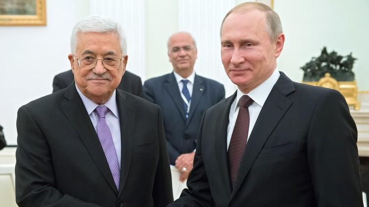 بوتين يبحث مع عباس في سوتشي تسوية الصراع في الشرق الأوسط