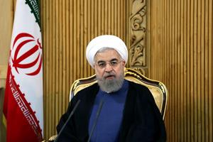 روحاني: آمل ان تنتهي الانتخابات في المرحلة الاولى