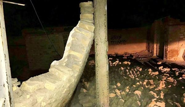 زلزال بقوة 5.7 درجة يوقع قتيلين و210 جرحى شمال شرق ايران