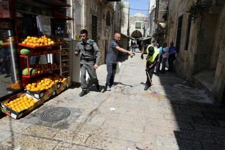 مقتل أردني بالرصاص بعد طعنه شرطيا إسرائيليا
