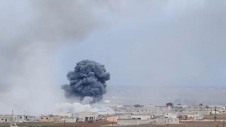 مقتل وإصابة عشرات النساء بغارات للتحالف شرق الرقة
