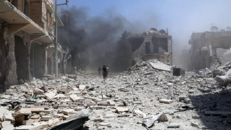 أكثر من 30 قتيلا بغارات التحالف على البوكمال شرق سوريا