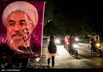 الدعاية الانتخابية في إيران