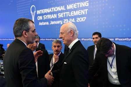الوفد الايراني يصل الي استانا للمشاركة في مفاوضات السلام حول سوريا
