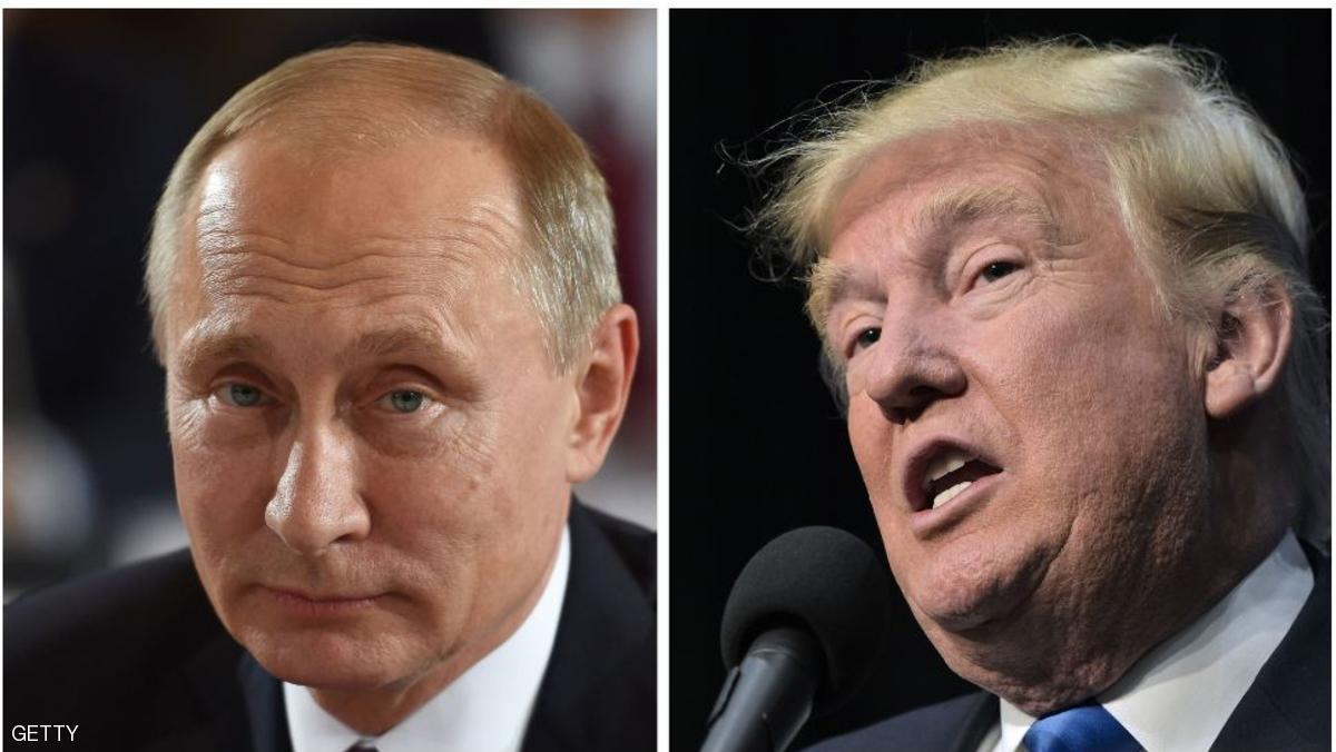 ترامب يبحث هاتفيا مع بوتين