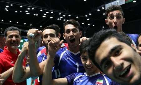 ايران تتوج ببطولة كرة الطائرة في دورة ألعاب التضامن الاسلامي