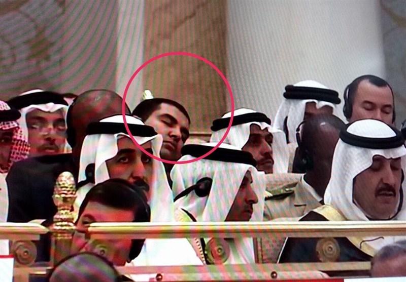 بالصور ..مسؤولون امريكيون ومسلمون نائمون أثناء كلمة ترامب في الرياض
