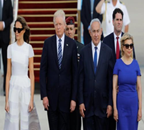 بالصور.. ترامب يغادر إسرائيل متجها إلى الفاتيكان
