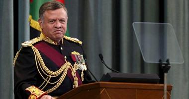 عاهل الأردن يبحث مع الرئيس الفرنسى التطورات الإقليمية والتعاون المشترك