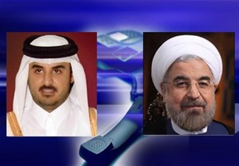 روحاني : ايران تولي اهمية بالغة لتطوير علاقاتها مع الدول الجوار سيما قطر
