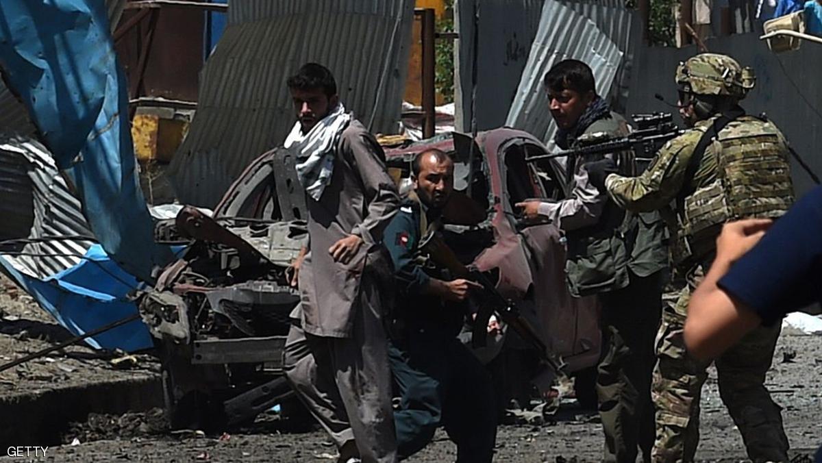 انفجار كبير قرب السفارة الأميركية في كابل