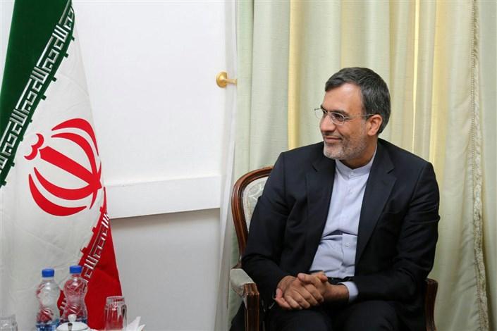 مباحثات ثنائية بين جابري انصاري وبشار الجعفري في آستانه