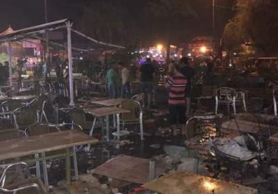 عشرات القتلى والجرحى بتفجير سيارة مفخخة في الكرادة وسط بغداد