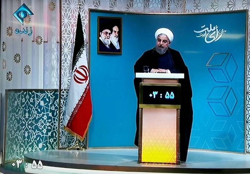 روحاني يدافع عن إنجازات حكومته الداخلية والخارجية