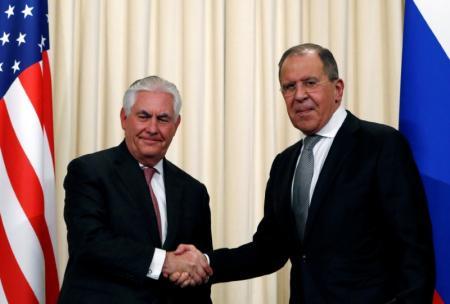 تيلرسون ولافروف يناقشان خفض العنف في سوريا
