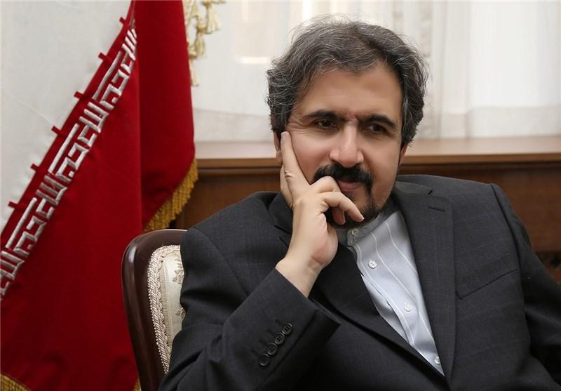 قاسمي يبحث مع نظيره الايطالي تعزيز العلاقات بين طهران وروما