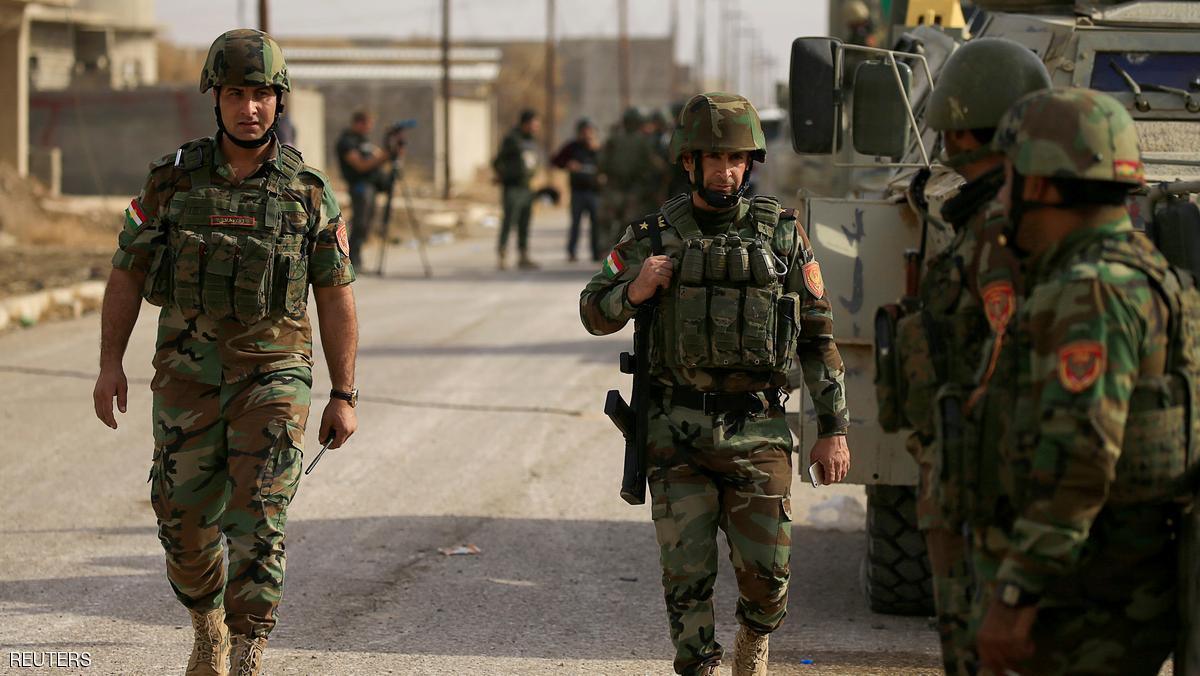 هجوم دموي لداعش على معسكر للبشمركة قرب كركوك