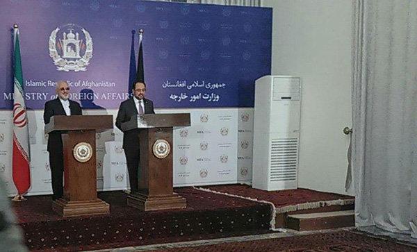 ظريف: سنبقى الى جانب الشعب الافغاني في جميع الميادين