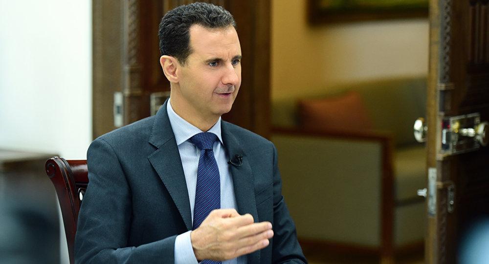 الأسد يبعث رسالة إلى زعيم كوريا الشمالية