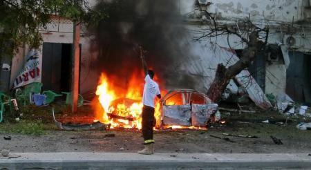 مقتل ثمانية على الأقل في انفجار سيارة ملغومة بمقديشو