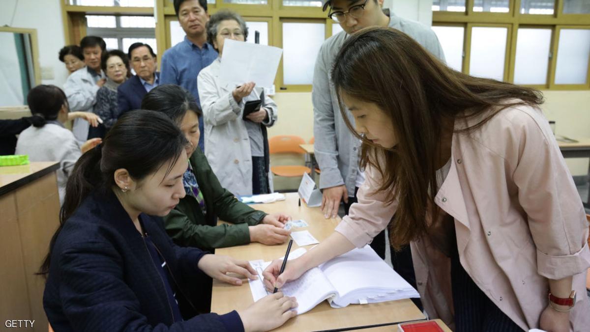 كوريا الجنوبية تنتخب رئيسا جديدا بعد