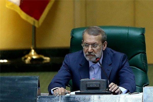 لاريجاني يؤكد ضرورة اعداد مشروع قانون للرد على الاجراءات الامريكية الاخيرة ضد ايران