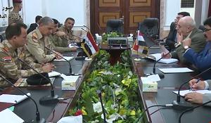 لقاء عسكري عراقي سوري