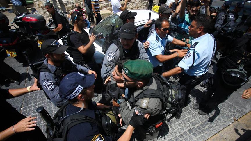 مواجهات فی  شرق القدس