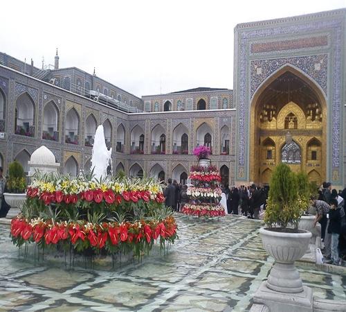 محافظة خراسان رضوي تزدان جمالاً وقدسية بضريح ثامن أئمة أهل البيت (عليهم السلام) +صور