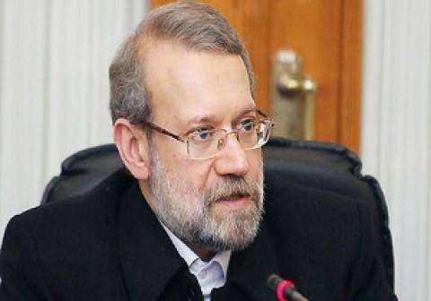 لاريجاني: ايران لن تتوانى في دعم محور المقاومة
