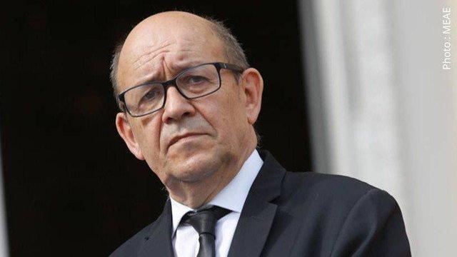 وزیر الخارجیة الفرنسي