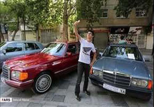 بالصور.. مهرجان للسيارات الكلاسيكية في همدان