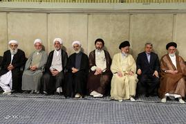 قائد الثورة الاسلامیة فی لقاء مع المعنیین فی الحج
