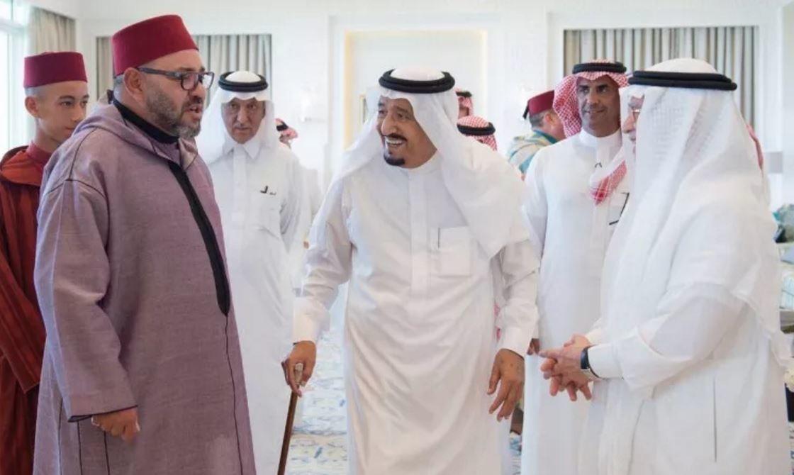 العاهل السعودي يستقبل ملك المغرب في طنجة + صور