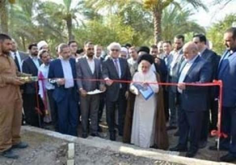 وضع حجر أساس أول جامعة إيرانية في العراق