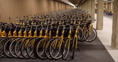 هولندا تبنى أكبر موقف للدراجات بسعة 12500 دراجة بسبب الزحام+ بالصور