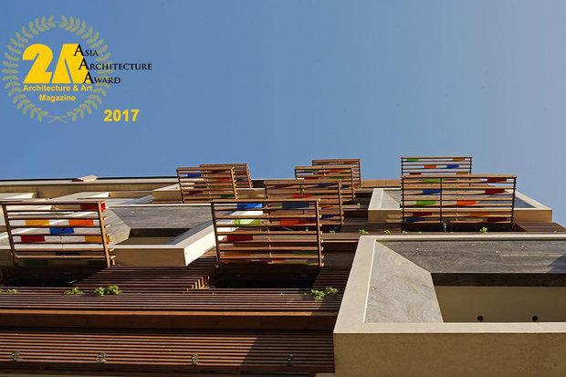 مبنى ايراني بتصميم خاص يرشح لجائزة الهندسة المعمارية في آسيا (2AAA)
