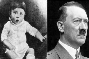 صور طفولة المجرمین او الطغاة المعروفة فی العالم