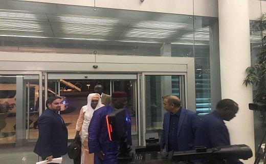 بالصور: وصول الوفود الأجانب الي ايران للحضور في مراسم أدا اليمين الدستوري للرئيس الايراني