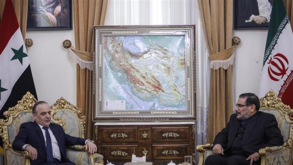 شمخاني: ايران ستواصل دعمها لسوريا حتي انتهاء الأزمة الأمنية