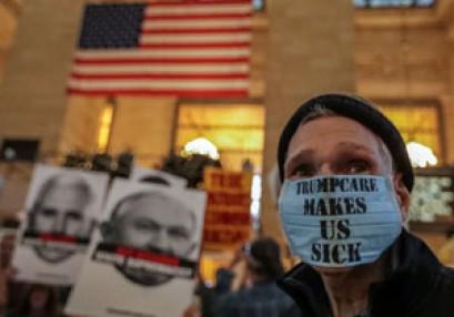"""تظاهرات فى نيويورك تنديدا بالعنصرية و """"التفوق الأبيض""""+ الصور"""