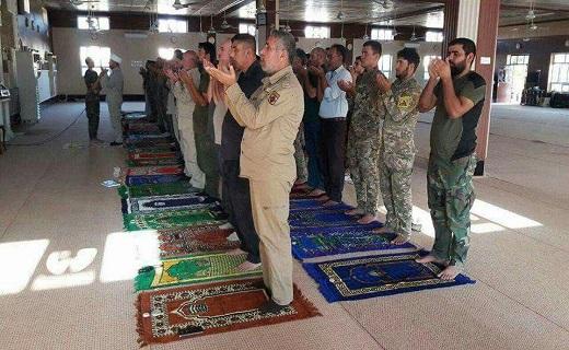بالصور: إقامة اول صلاة للعيد في تلعفر بعد تحريرها