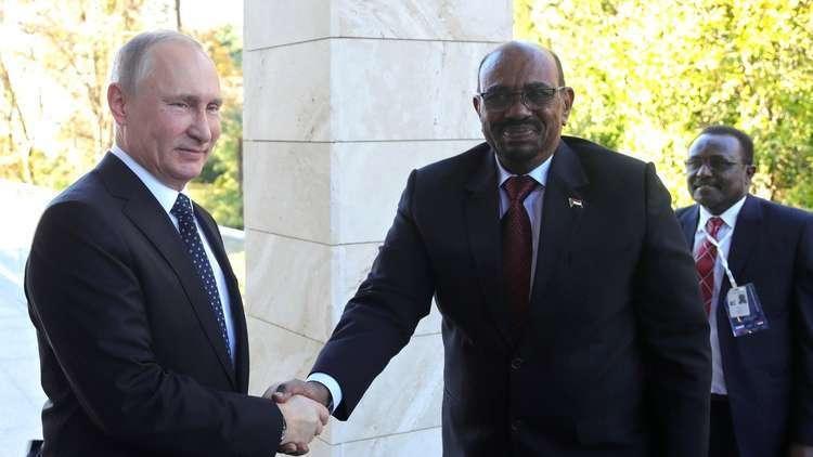 البشير يشيد بالتعاون الاستراتيجي بين روسيا والسودان