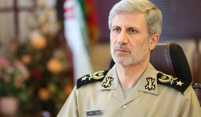 وزير الدفاع الايراني: يخطط الأعداء لإيران غير آمنة وغير مستقرة