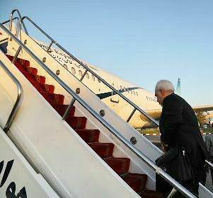 ظریف یتوجه إلی روسیا وبلجیکا للتفاوض حول الإتفاق النووي