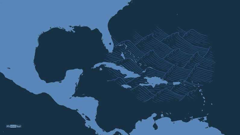 زلزال قوي وتحذيرات من تسونامي في الكاريبي