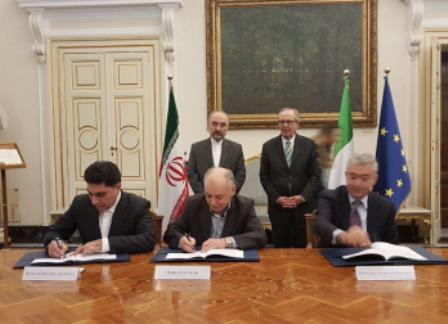 ایران وایطالیا توقعان عقدا بقیمة خمسة ملیارات یورو