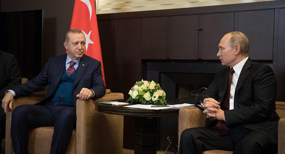 بوتين وأردوغان أكدا أهمية تنفيذ اتفاقيات أستانا بشأن سوريا